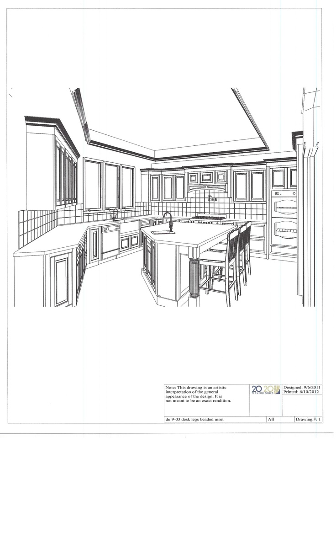 Autocad Kitchen Design Classy Design Ideas