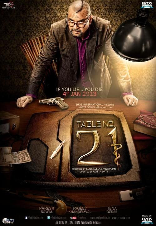 Table No. 21 (2013) Full Movie Streaming HD