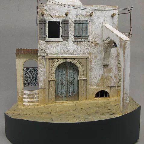 Here are some examples of masters I made for my own use in vignettes or diorama´s.