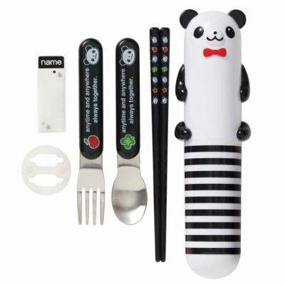 Panda Cutlery Set http://littlebentoworld.com/shop/cutlery/panda-cutlery-set/