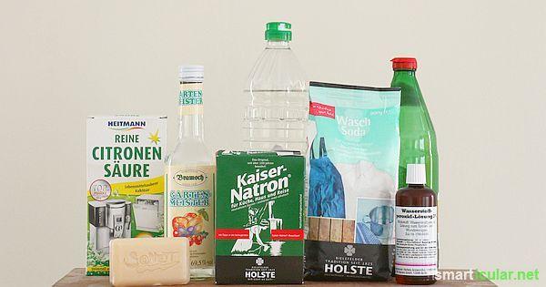 Einfache Hausmittel können dir ein Vermögen sparen und nebenbei auch die Umwelt schonen. Diese 7 Helfer sollten in keinem Haushalt fehlen!