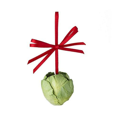 Tesco direct: Brussel Sprout Christmas Tree Decoration