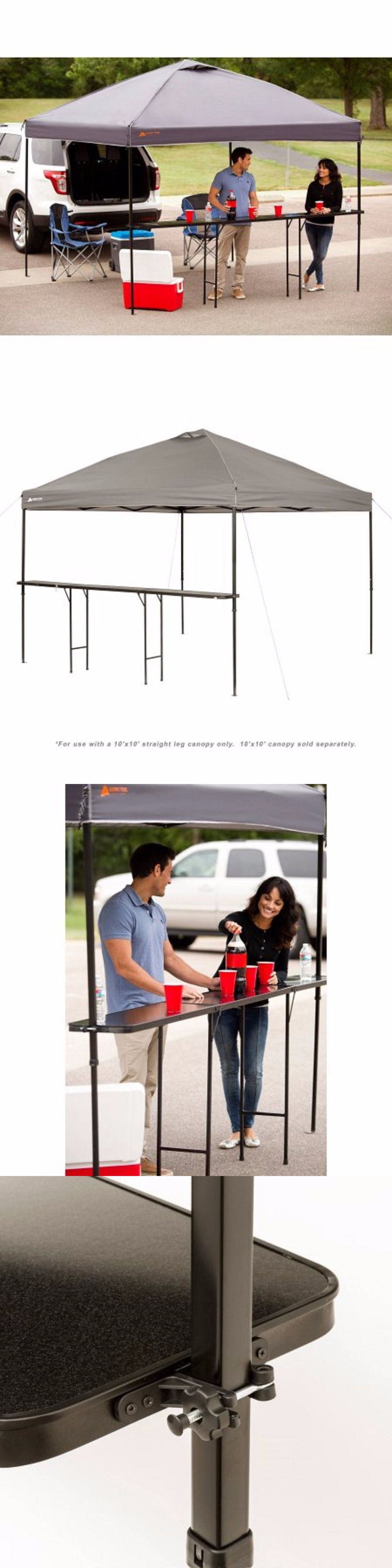 Canopies and Shelters 179011: Ozark Trail Bar-Height 10 Folding Canopy Table -> BUY IT NOW ONLY: $52.76 on eBay!