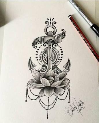 Résultats de recherche d'images pour «ancora tattoo desenho»