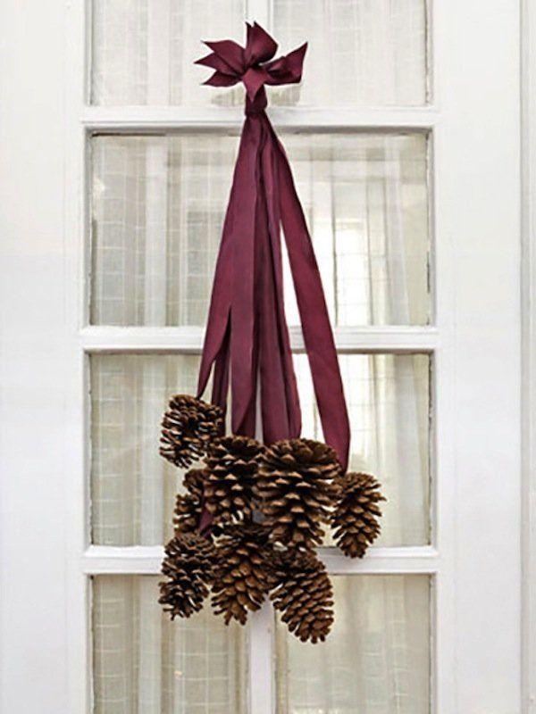 Einfache Thanksgiving-Dekorationen aus Dingen rund um das Haus zu machen