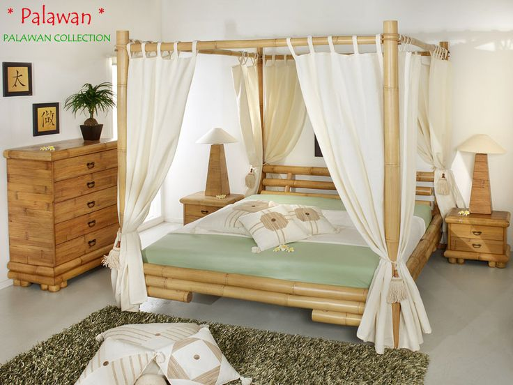PALAWAN Himmelbett - Bambusbett 180x200 | PALAWAN COLLECTION
