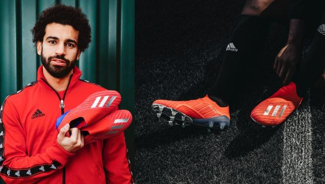 Mohamed Salah unveils Adidas Football's