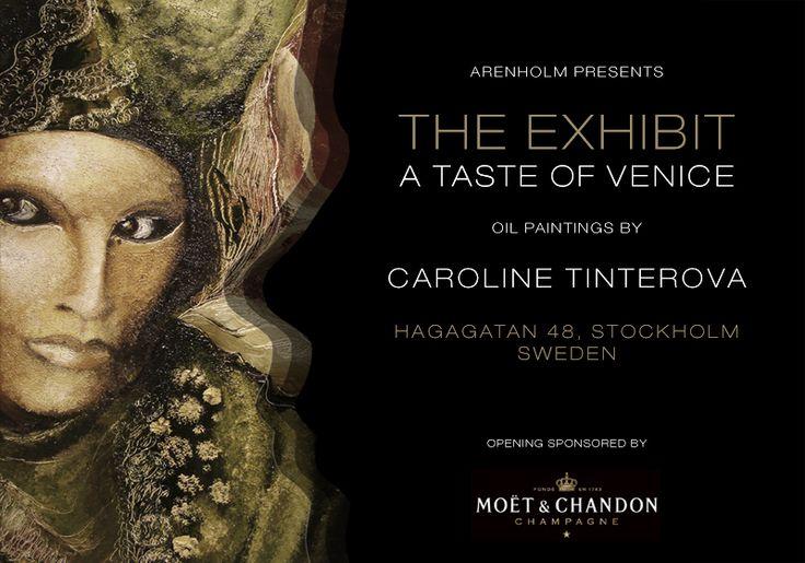 Invite Venice Exhibit at Ligne Roset with Moet Chandon and Arenholm.   @Ligne Roset @Daniel Arenholm