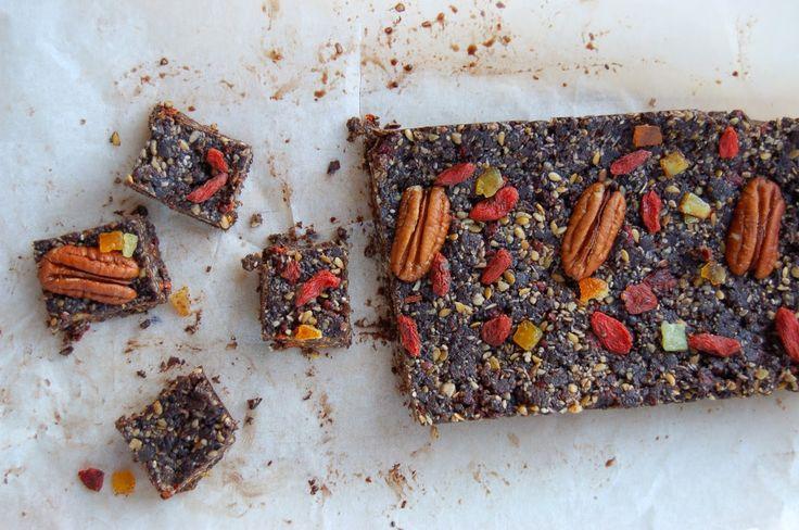 Kafe a dort: Velmi zdravý nepečený dezert z ořechů a semínek/ Vegan friendly