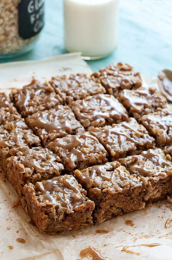 Gluten-Free-Caramel-Apple-Oat-Squares