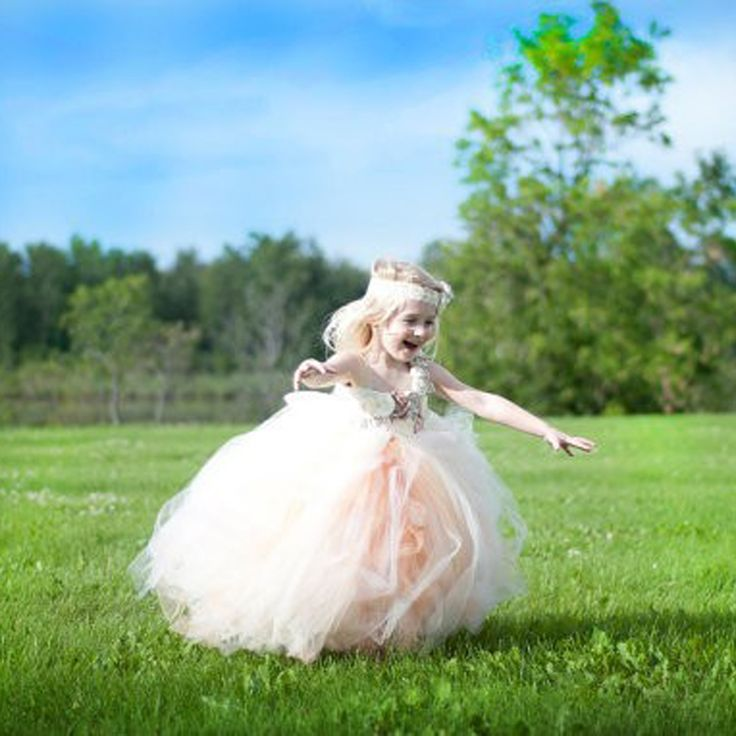 ==> [Free Shipping] Buy Best 2017 vintage handmade flowers bodice fluffy tulle long tutu flower girl dresses children pageant tutu dress with flowers Online with LOWEST Price | 1604636057