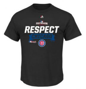 The Chicago Cubs advanced to the NLCS and now there is new Cubs gear. Did you get yours yet?