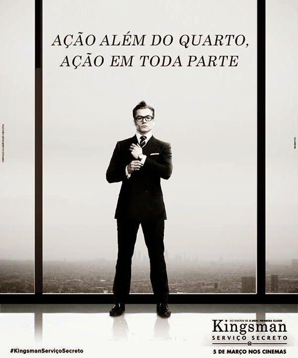 A Fox Film do Brasil divulgou um trailer dublado da adaptação de HQ Kingsman: Serviço Secreto. Além disso, o filme ganhou também dois cartazes que parodiam o sucesso Cinquenta Tons de Cinza.