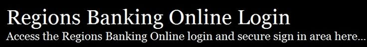 Regions Banking Online Login. Sign in to obtain access to your Regions Banking Online account.