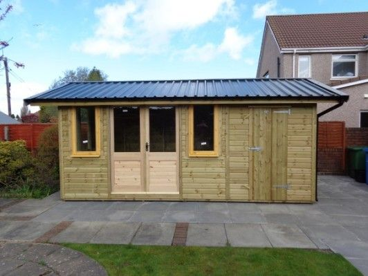 Summerhouses (summer houses) in Falkirk Stilring, Alloa and Central Scotland by Paterson Garden Buildings Ltd - also Timber Stables.