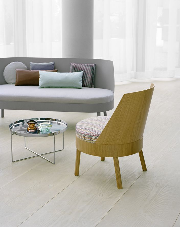 High Quality Feature Both A Round Upholstered Seat: Sofa BESS And Lounge Chair BESSY By  Stefan @ · Grey SofasScandinavian DesignScandinavian FurnitureLounge ...