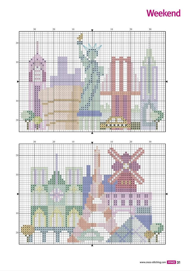Trip Of A Life Time (Jody Rice) From Cross Stitch Crazy N°202 May 2015 4 of 4