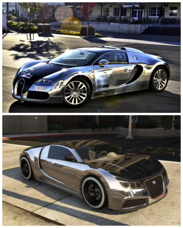 5 Of The Coolest GTA V Cars