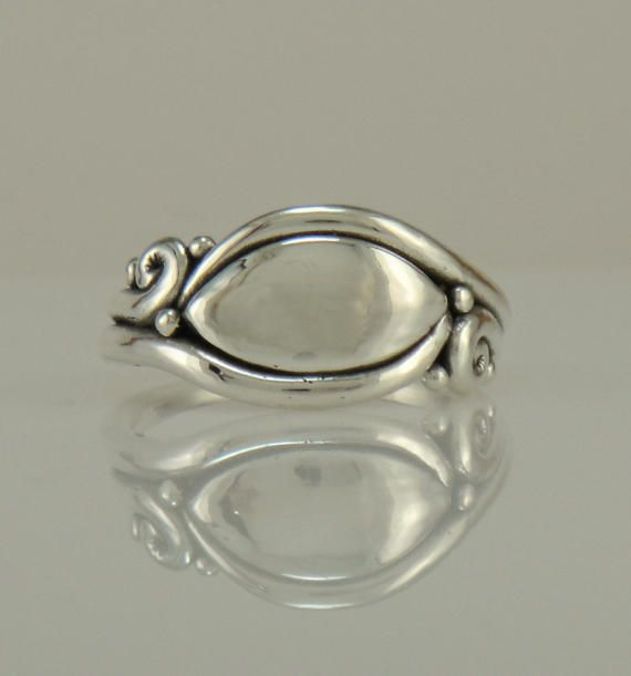R1095 Sterling Silver Ring One of a Kind