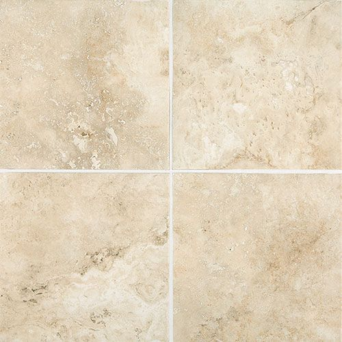 "Baños Ceramica Color Marfil Esta Villa 18"" X 18"" - Terrace Beige 