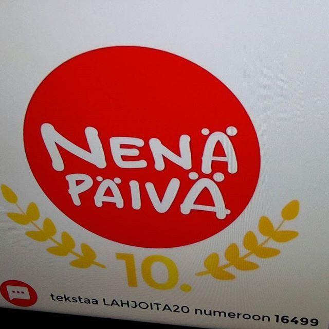 YLE TV2 NENÄPÄIVÄ Kampanja&SHOW 11.11.2016. MUSIIKKIA, Sketsejä ja TIETOA esim Intian ja Somalian Lapsista. Hyväntekeväisyys kampanja MAAILMAN LASTEN HYVÄKSI. 9 JÄRJESTÖÄ, KAMPANJA jatkuu vuoden 2016l oppuun. NYT KERÄTTY jo yli 2 miljoonaa euroa.  Katso Info YLE & BLOGISTA. Olen myös Mukana SEURAAN....TUEN&SUOSITTELEN HYVÄNTEKEVÄISYYTTÄ mm. Nenäpäivä, Lastenklinikoiden kummit jne. NÄHDÄÄN Hymy @ylehelsinki #hyväntekeväisyys #nenäpäivä #nenäpäivä2016 #blogi #blog #järjestöt #ajankohtaista…