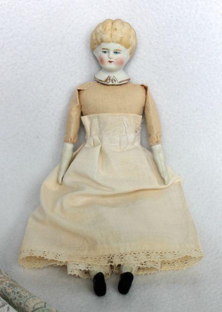 Изящная немочка China Doll / Антикварные куклы, реплики / Шопик. Продать купить куклу / Бэйбики. Куклы фото. Одежда для кукол