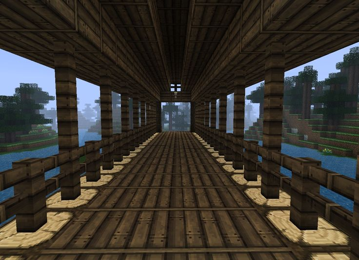 Covered Bridge Minecraft Project