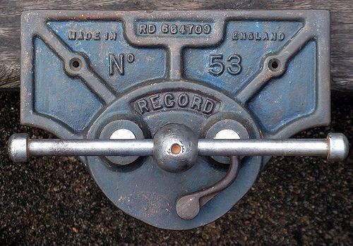 Record No 53 Woodworker S Vice 1920s Bench