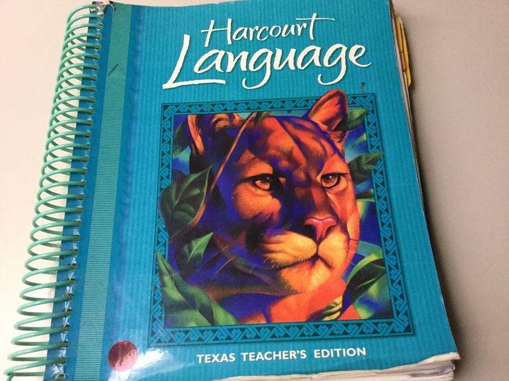 HARCOURT LANGUAGE GRADE 4, TEXAS TEACHERS EDITION #TeacherTextbook