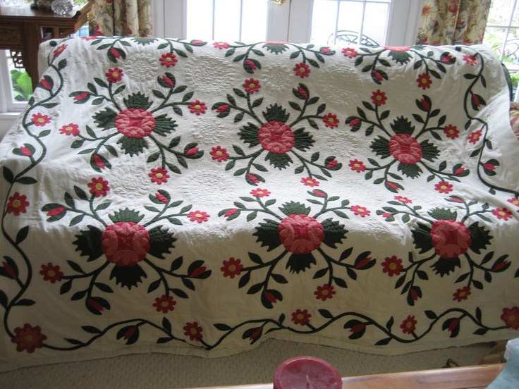 343 Best Rose Quilts Images On Pinterest Antique Quilts