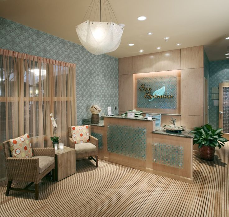 Spa Reception Area | Relax in style and comfort in the reception area of Spa Botanica.