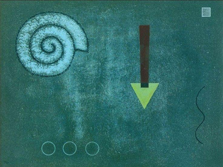 """Wassily Kandinsky - """"Green Tip"""", 1931"""