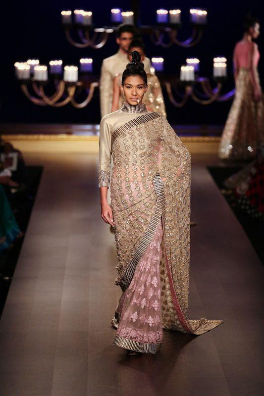 The Anju Modi saree collection.