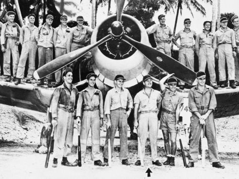 Pappy Boyington Black Sheep Squadron | WWII Boyington and Black Sheep Crew 1944
