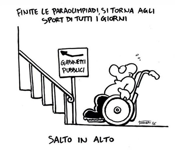 Le Paralimpiadi quotidiane...