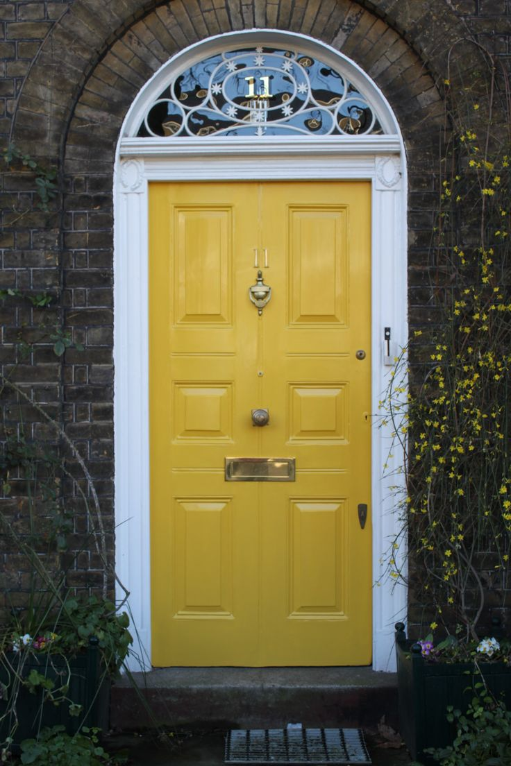 Georgian Front Door North London Love The Center Knob