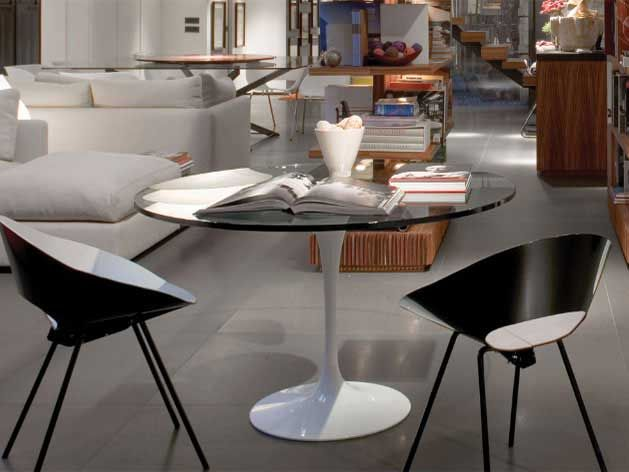 die besten 25 saarinen tisch ideen auf pinterest tulpentisch eklektische esszimmer sets und. Black Bedroom Furniture Sets. Home Design Ideas