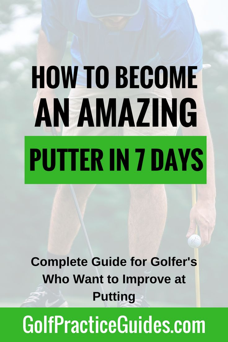 Become an amazing putter in just 7 days by joining our free online golf putting bootcamp where you'll learn putting tips and practice drills that are most effective at building a strong fundamental putting stroke that sinks putts inside 10 feet and avoids costly 3 putts. Feel confident in your short game skills by working through the golf lessons inside this course. Get access to Day 1 by clicking the link.
