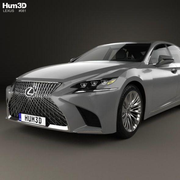 Lexus Ls 2017 Lexus Ls Lexus The Unit