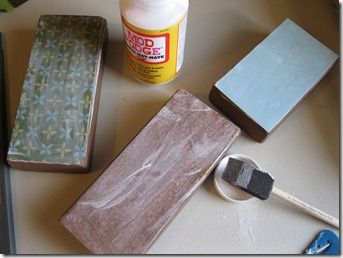 wood blocks craft ...how to.  Think I might need a Cricut machine.