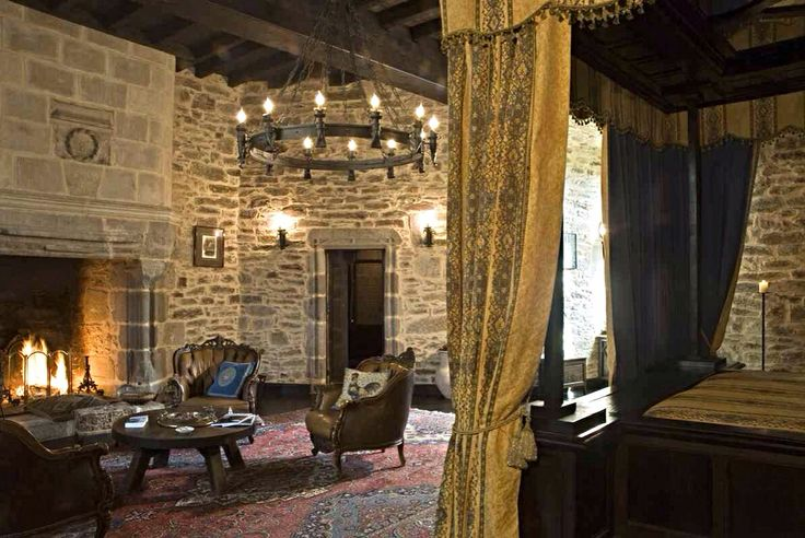 Master Bedroom On Third Level Medieval Castle De Montbrun Dournazac Haute Vienne France