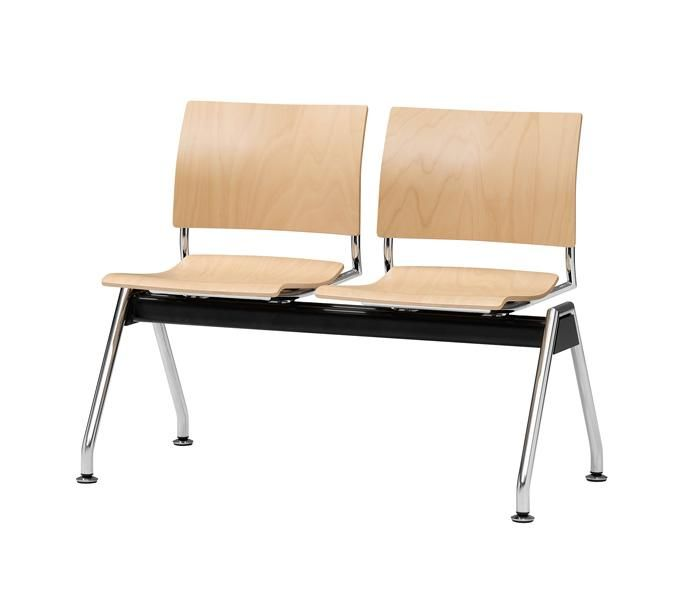 Feniks | UCI Beam seating, by Casala in The Netherlands. Designed by Kressel + Schelle. 2 seater, 3 seater and 4 seater beam. Can be set up in an angular formation using the optional table-top. uci.com.au