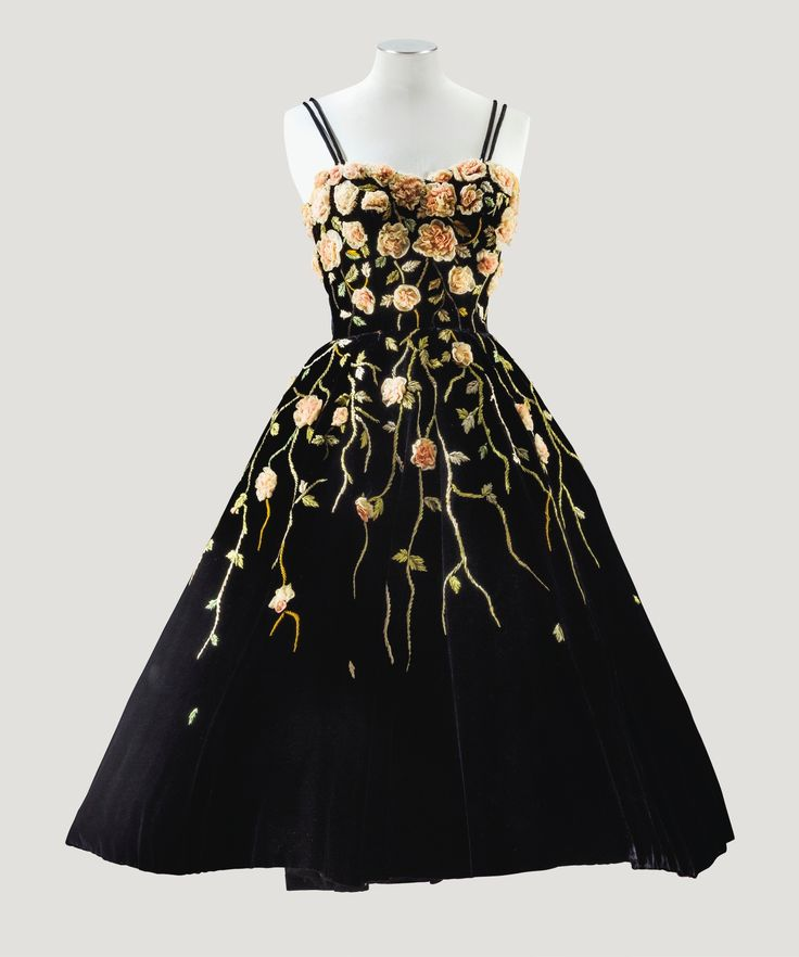 Pierre Balmain, 1953, Image from Sotheby's