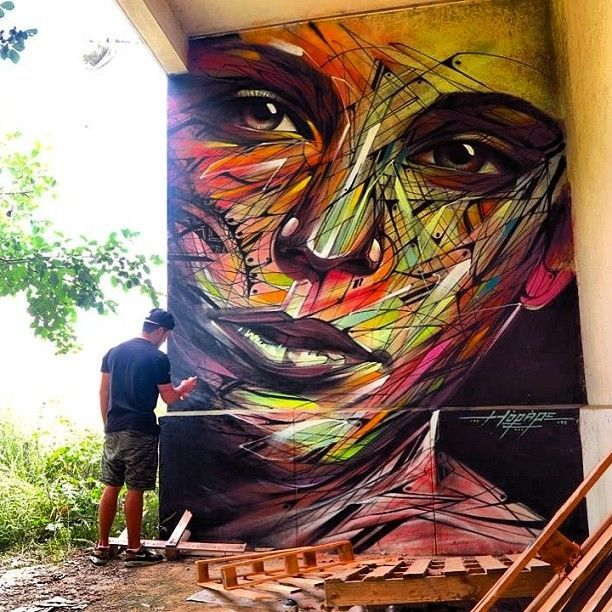 "Artist : Hopare ""Limours, France - 2014"""