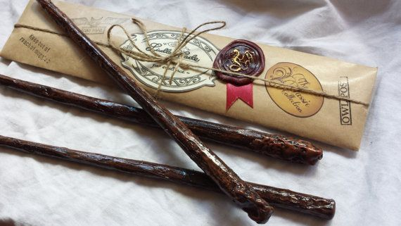 Classic Magic Wand, Harry Potter inspired, Wizard Wand on Etsy, $16.00