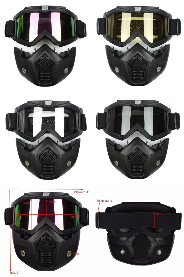 [Visit to Buy] Ski Skate Motorcycle Goggle Motocross Goggles Helmet Glasses Windproof off Road Moto Cross Helmets Mask Goggles #Advertisement