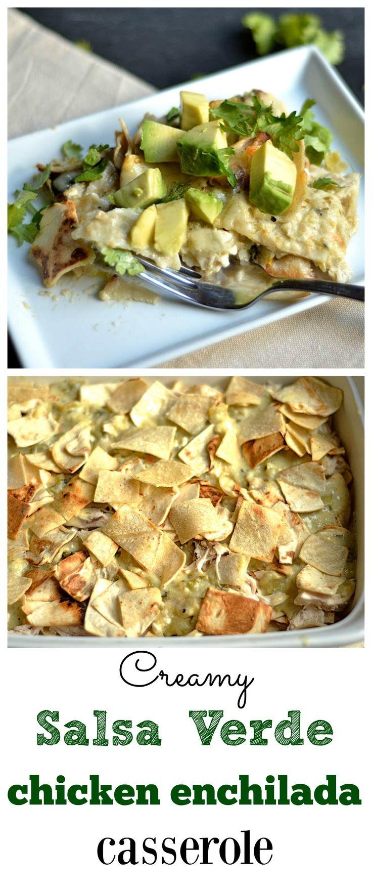 salsa verde tomatillo salsa verde this chicken salsa verde casserole ...