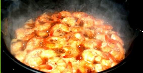 Camarones Teriyaki Recipe.