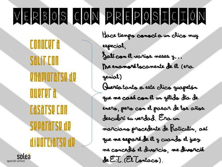 Algunos verbos que rigen preposición en español relacionados con el amor. Hemos escrito una pequeña historieta amorosa... Vosotros podéis crear la vuestra. ;)