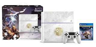 There are currently 3 PS4 Destiny Bundles available, so depending on how much you would like to invest, here are your choices. PlayStation 4 500GB Console – Destiny: The Taken King Limited Edition Bundle $349.99 This bundle, without the Metal Gear game,  so you are essentially getting $60 or so free for the game. Includes: 500 …